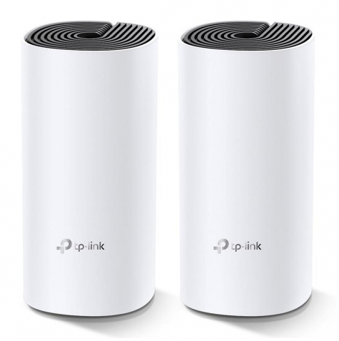 TP-Link Deco M4 Whole Home Mesh Wi-Fi Router System - 2 Pack