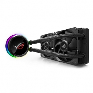 ASUS ROG Ryuo 240mm Liquid CPU Cooler with OLED Display