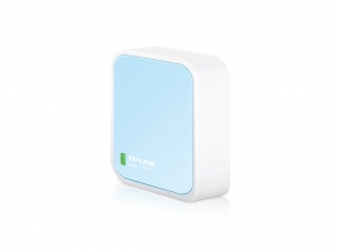 TP-LINK TL-WR802N wireless router Single-band (2.4 GHz) Fast Ethernet Blue,White