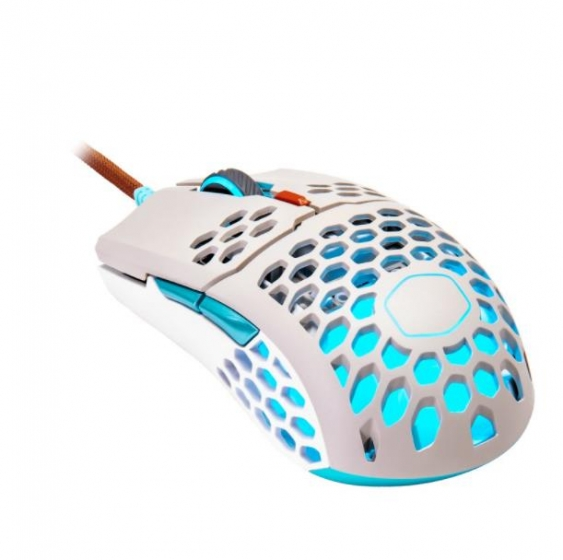 Cooler Master (MM-711-GSOL1) MM711 RGB Retro Ultra-Light Gaming Mouse